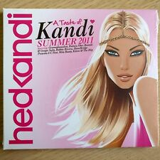 NEW - A TASTE OF KANDI SUMMER 2011  hedkandi Club Pop Dance House Music CD Album