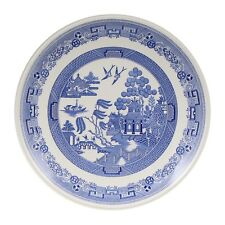 A Spode Willow pattern Blue Room Collection cake serving plate