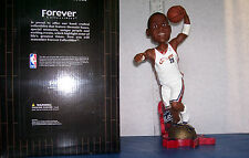 2003 LEBRON JAMES 10 INCH ROOKIE HOME JERSEY BOBBLEHEAD CLEVELAND CAVALIERS MINT