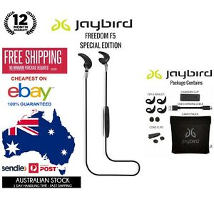 Jaybird Freedom F5 Wireless In-Ear Headphones Black Special Edition 985-000698