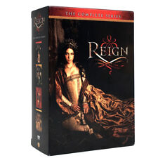 Reign: The Complete Series Season 1-4 (DVD, 17-Disc Set) Season 1 2 3 4