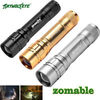 25000LM 3-Modes Flashlight LED T6 LED 18650 Zoomable Torch Lamp Light Powerful#