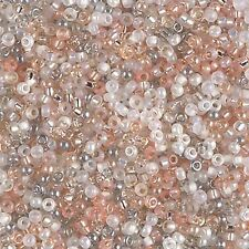 11/0 Moonstone Glass Round  Miyuki Seed Beads 10 Grams
