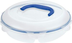 LOCK & LOCK Easy Essentials Food Storage Container With Dividers  - 78 Ounce