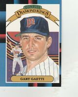 FREE SHIPPING-MINT-1988 (TWINS) Leaf/Donruss #19 Gary Gaetti DIAMOND KING