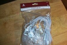 6 SOCKET LIGHT CORD SET FOR DEPT 56 LEMAX CHRISTMAS VILLAGE BUILDINGS NEW