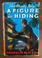 Vintage HARDY BOYS #16 A Figure in Hiding HB/DJ Great Condition