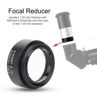 "Datyson 1.25""0.5X Focal Reducer M28 Thread Lens Accessory for Telescope Eyepiece"