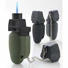 TurboFlame Military Original Mini Blow Torch GX7R Jet Flame Green /Black Lighter