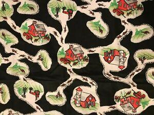 "Ant Farm Fabric 22"" x 36"" Cotton Quilting"