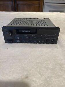 HONDA FACTORY OEM AM / FM RADIO CASSETTE PLAYER STEREO - 39100-SV4-A000-