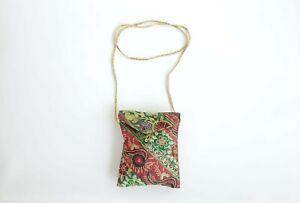 India Boutique Boho Multi-color Shoulder Bag Purse Gypsy Hippie
