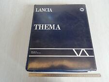 MANUALE ORIGINALE OFFICINA LANCIA THEMA 1 SERIE 1984