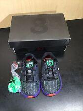 Nike KD 8 Preschool Boys Shoe Black/Green Shock/Hyper Orange/White 5C 768869-003