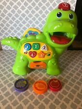 VTech Chomp and Count Dino Talking Green Dinosaur Toy