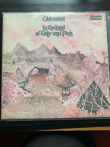 in the Land of Grey and Pink CARAVAN 1971 SDL R1 Vinyl LP  FREE POST IN UK