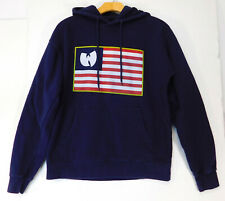 THE WU-TANG Brand Limited O.G Pullover HOODIE FLAG Protect Ya Neck MEN'S SMALL
