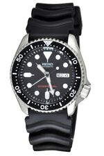 Seiko SKX007K1 Divers Automatic Black Dial Rubber Strap Men's Watch SKX007 New