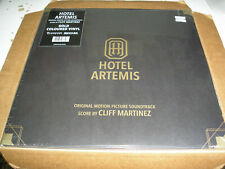 Hotel Artemis soundtrack double LP new sealed Cliff Martinez gold colored vinyl