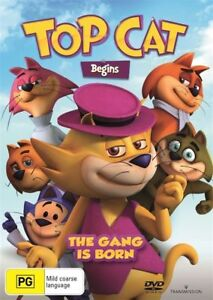 Top Cat Begins DVD RES Hanna Barbera have a special place in my heart. You too?