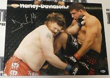 Frank Mir Signed 16x20 Photo BAS Beckett COA UFC 130 vs Nelson Picture Autograph
