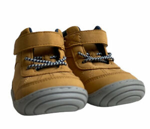 Stride Rite Surprize Baby Boy Archer Sneaker Boot Wheat Size 3 New With Tags