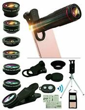 Cell Phone Camera Lens Kit,15 in 1 Universal 22x Zoom Telephoto,0.63Wide Angle+1