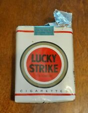Empty Pack of Collectable Lucky Strike Cigarettes No Tobacco Inside Pack
