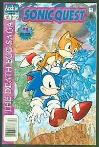 Sonic Quest - The Death Egg Saga #1 (Dec 1996, Archie) VF/NM
