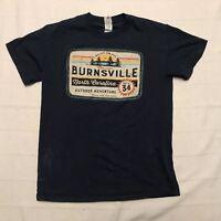 Burnsville, North Carolina Souvenir Cotton Graphic T-Shirt Mens Medium TS2
