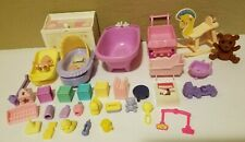 HTF Barbie Doll Happy Family Krissy 1st Birthday Grandpa Baby Accessories Lot
