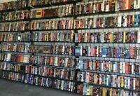 Lot Of 20 Random VHS Movies.  All genres.  FREE SHIPPING.