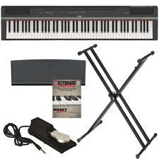 Yamaha P-125 Digital Piano - Black BONUS PAK