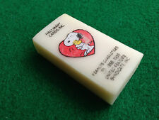 SNOOPY PEANUTS gomma vintage 80s , HALLMARK eraser rubber gommina