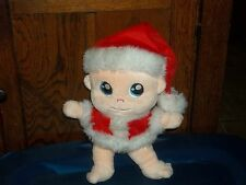 2010 BABYKINZ BABY SANTA PLUSH DOLL FROM THE BOOKS BY STEPHANIE MILLER