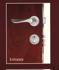 Forged  Brass Entrance  handle   & deadlock  Lock set