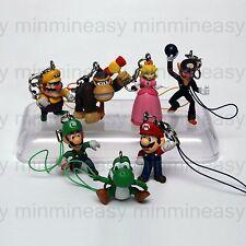Nintendo Super Mario Figure Key Ring Chain Charm 7xx