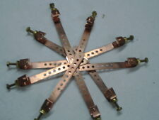 """6.5""""  COPPER GROUND STRAPS  LOTS OF 10 PLUS GET ONE FREE!!!"""