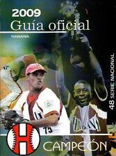 GUIA OFICIAL BEISBOL Baseball Guide Pelota 48 Serie Nacional 2009 Cuba Cuban