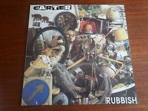 """CARTER USM - Rubbish - 12"""" Vinyl Single 1990 Big Cat EXCELLENT ABB 102T"""