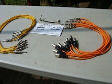 Lot 15 Unbranded Patch Cables Trsm Xlr 3 ft 2 ft Whirlwind Rapco Proco Neutrik