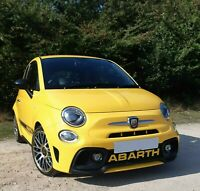 Abarth 595 Styling-Letters Diffuser Badge - Multiple Colours