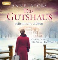 DANIELA HOFFMANN - (2)DAS GUTSHAUS-STÜRMISCHE ZEITEN  2 MP3 CD NEW