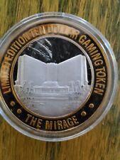 Mirage Casino Strike - Ten Dollar Silver Casino Strike .999 - Las Vegas - $10