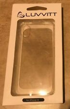 Luvvitt Clear View Case for iPhone X Crystal Clear NEW factory sealed in box