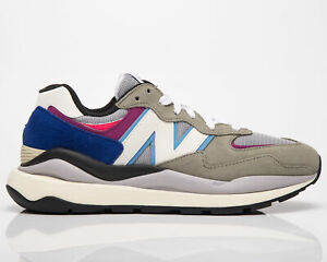 New Balance 57/40 Incubation Pack Men's Grey White Blue Purple Low Sneakers Shoe