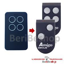 TELECOMANDO COMPATIBILE CON GENIUS AMIGO JA332 868 MHZ ROLLING GARAGE CANCELLO