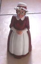 Mrs Santa Claus , Dolls House Miniature Xmas Time Christmas Hols