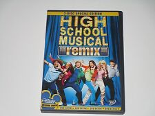 High School Musical (DVD, 2006, 2-Disc Set, Remix Edition)