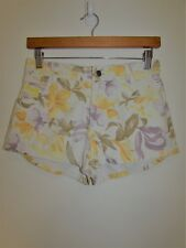New WRANGLER Floral Hi Cheeky Denim Shorts Size 10 Small S BNWT